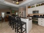 Spacious kitchen fully equipped for all your cooking needs
