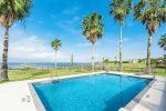 Private swimming pool overlooking Copano Bay