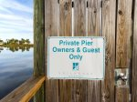 Private pier for Sailhouse guests