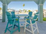 Relax outside on the spacious patio