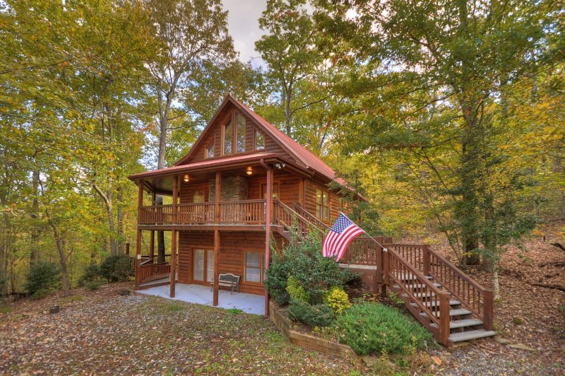 search sky blue cabin illinois in north cabins all of for simple rentals area rent georgia rental