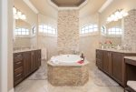 Large under truss lanai, large dining table with seating for six guests and 3 chaise lounges