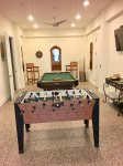 Game Room with Foosball table and pool table