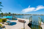 Southern Comfort  Boat dock with lounges