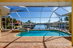 Sunny Daze - Spectacular Sailboat Access Property with Priceless Water Views in the very desirable SE Cape Coral Area off of Palaco Grande