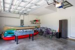 Bikes and Foosball table, Kayaks for tenant to use