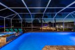 The Pool Featurs Bright LED Lights