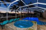 Enjoy a Late Night Dip in the Swimming Pool or Jacuzzi