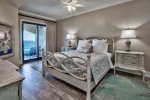 Master bedroom with king bed and awesome views