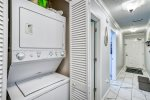Laundry Closet w/ washer and dryer