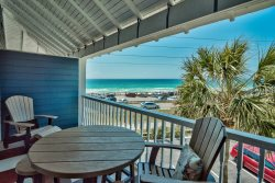 Summer Breeze #302 Wonderful Gulf and beach view Newly updated -has new queen bed, recliner, plus new patio furniture Condo 1 bed 1 bath sleeps 6
