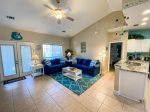 Beach access - one block away