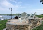 The Casablanca and Crowview Properties Share this Amazing Rock Patio that Overlooks the Main Channel of the Lake - It`s a 6 mile View.