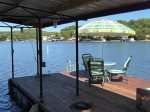Sun/Shade Patio Set on the Dock Too.