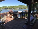 Large Deck with Lake Views Even When Grilling