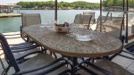 High Top Patio Set on Dock