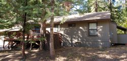 Enjoy a nice retreat at the McNeely cabin located in Sierra Cedars subdivision
