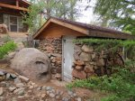 Rock House Storage Shed