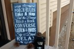 Porch Cabin Rules Which Must Be Followed