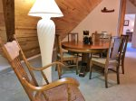 Loft with Game/Puzzle Table and Rocking Chair for Reading