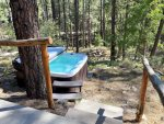 Hot Tub Below Wraparound Deck