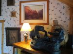 Western Bronzes and Pictures in Chaparral Suite