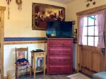 BBQ and 5 Chair Patio Set