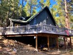 Cool Pines Cabin with Screened Arizona Room and Deck