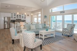 Oceanfront Perfection, Just right for larger families to stay all in one space!