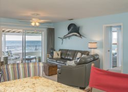 Fun Oceanfront Home ALL on 1st Floor - NO Steps!!