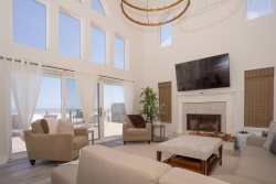 Beachside Paradise - Oceanfront Home | Main Living Area is on the Ground Floor with Great Ocean Views