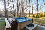 Lower Deck w/ Hot Tub