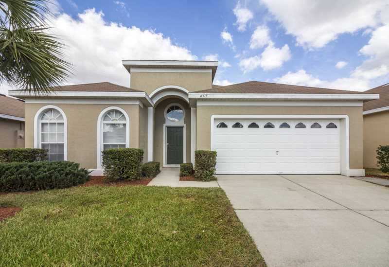 Windsor Palms Florida Home For Rent In Kissimmee Gated