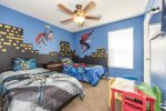 Super Hero Themed Twin Room