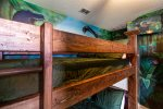 Jurassic Park Kids Room with 2 Bunk beds