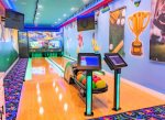 In home private bowling alley