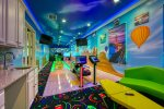Private in home bowling alley