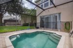 Splash Pool with Screened in Patio Area