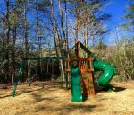 Rec Area at Chimney Cabins - Playset for the youngsters in your group