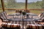 Screen Porch with Grill, Hot tub and Dining Area