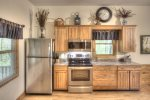 New stainless appliances