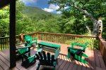 Mountain Hydeaway - Upscale vacation cabin rental near Helen Georgia with Yonah Mountain Views