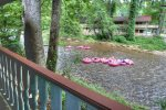4 Person Hot Tub on Side Deck