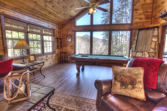 Cabins With Pool Or Game Tables In Helen Ga Pinnacle Cabin Rentals