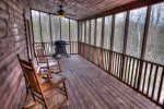 Screened in Porch with Seating