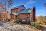 Just a few steps into this gorgeous cabin with master suite on main