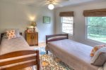 Terrace Level Bedroom/Sleeping Area includes Flat Screen TV and Pool Table