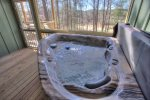 2 Person Hot Tub just outside Master Bedroom