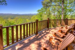 Almost Heaven - Upscale Mt Yonah Cabin Rental with Incredible Mountain Views near Helen, GA