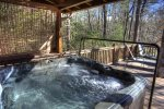 Hot Tub on main level deck